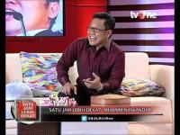 """Program Satu Jam Lebih Dekat tvOne episode 4 Maret 2016 menghadirkan bintang tamu Muhaimin Iskandar. """"Sang Pemimpin"""""""