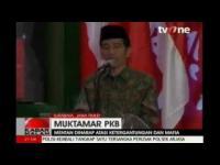 Rangkaian Muktamar PKB, Pembekalan politik dari Jokowi Dalam program TV ONE, KABAR SIANG 31 AGUSTUS 2014