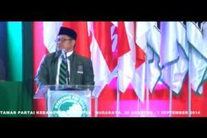 """'Rahmatan Lil 'Alamin"""" Muktamar Partai Kebangkitan Bangsa 2014 di Surabaya 30 Agustus - 1 September 2014"""