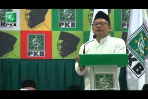 Pidato Ketua Umum DPP PKB, A Muhaimin Iskandar dalam acara puncak Haul Gus Dur ke 5