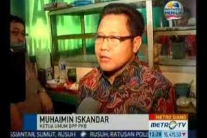 Wawancara Ketua Umum DPP PKB di warung kaki lima, Soto Madura Jl Pintu Air, Pasar Baru, Jakarta Pusat